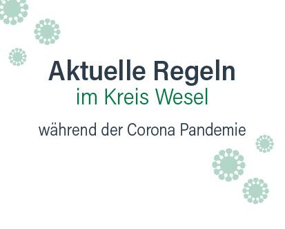 Corona Aktuelle Regeln Kreis Wesel